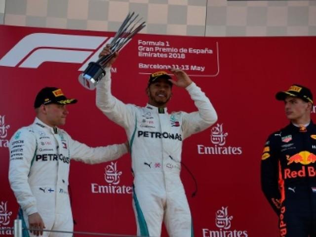 GP d'Espagne: Lewis Hamilton retrouvé