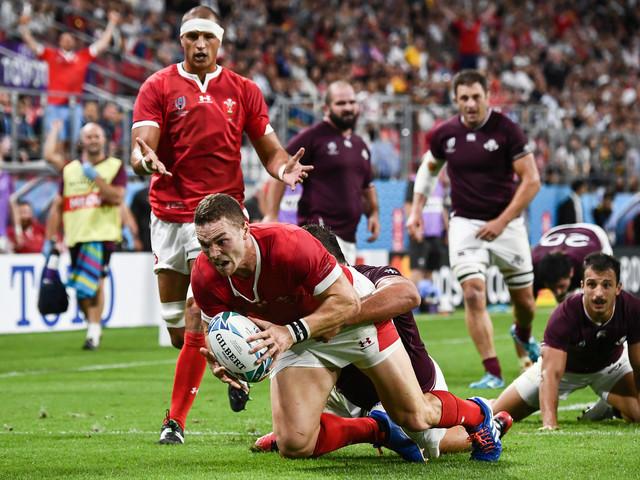 Mondial de rugby: les Gallois passent leurs nerfs sur la Géorgie