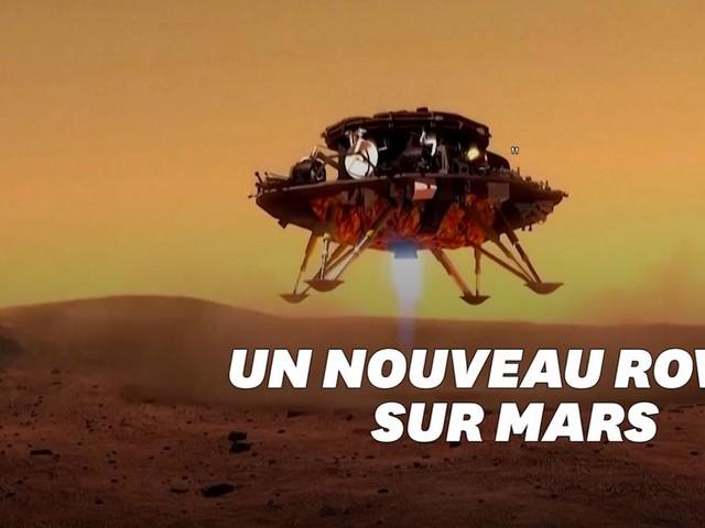 La Chine a posé Zhurong, le premier rover non-américain sur Mars