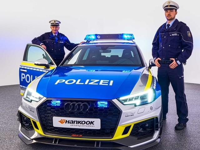 ABT dévoile une Audi RS4-R «Polizei» : Joli coup de filet !