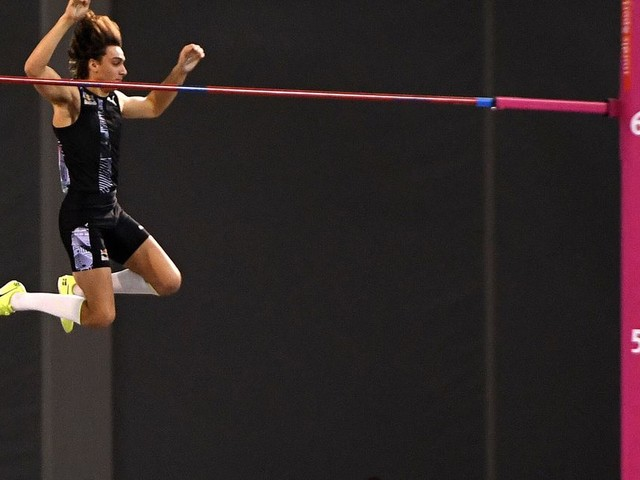 Armand Duplantis bat son second record du monde en une semaine