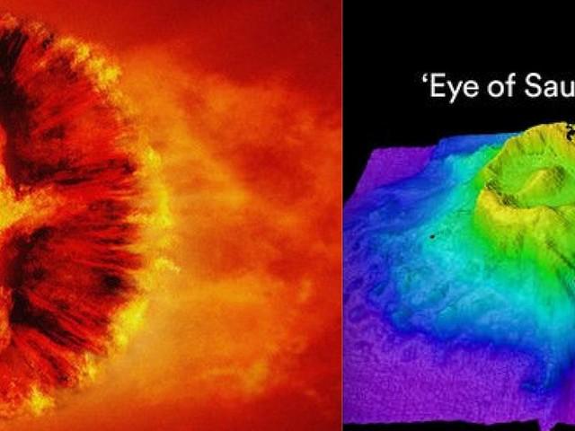 Ce volcan rappelant l'Œil de Sauron découvert au fond de l'océan
