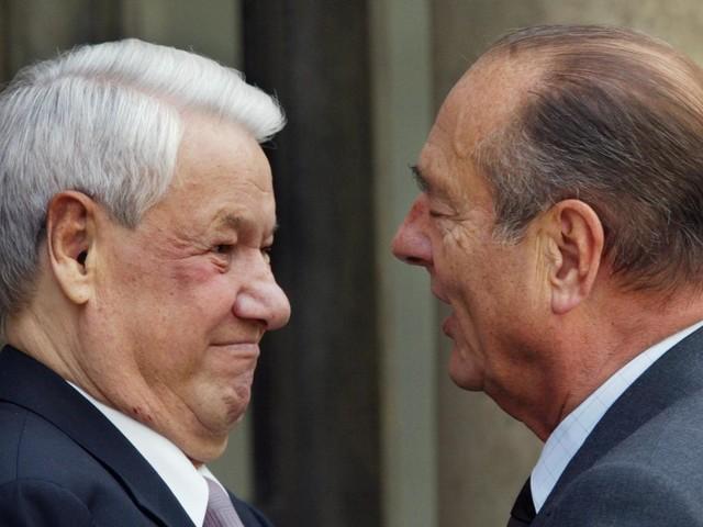 """Jacques Chirac, son tropisme russe et son """"ami Boris"""" Eltsine"""