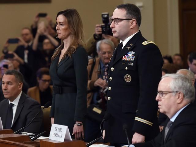 Destitution de Trump: deux témoins clés troublés par l'appel au coeur de l'affaire