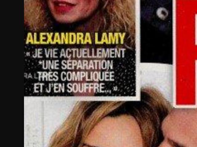 Alexandra Lamy, «rupture compliquée», consolée par Mélanie Doutey, son message (photo)