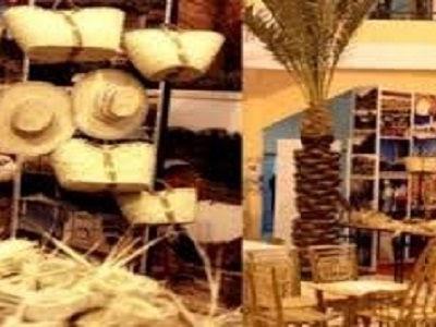 Ouverture de la foire « Femmes créatives de l'oasis de Douz »
