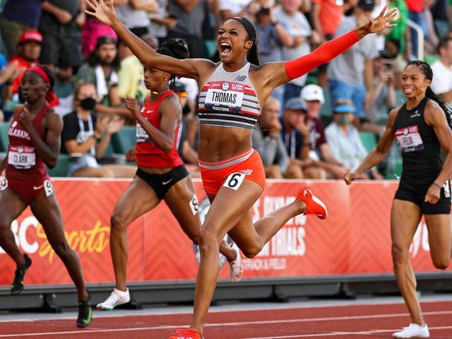 Athlétisme: à moins d'un mois des JO de Tokyo, les Etats-Unis frappent fort