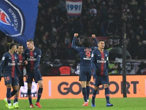 Foot - L1 - Ligue 1 : Le PSG en passe neuf à Guingamp mais perd Verratti