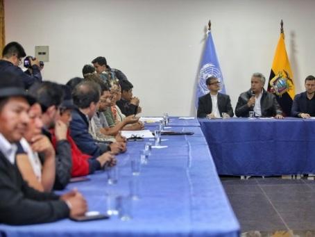 Fin de la crise en Equateur, grâce à un accord entre gouvernement et indigènes