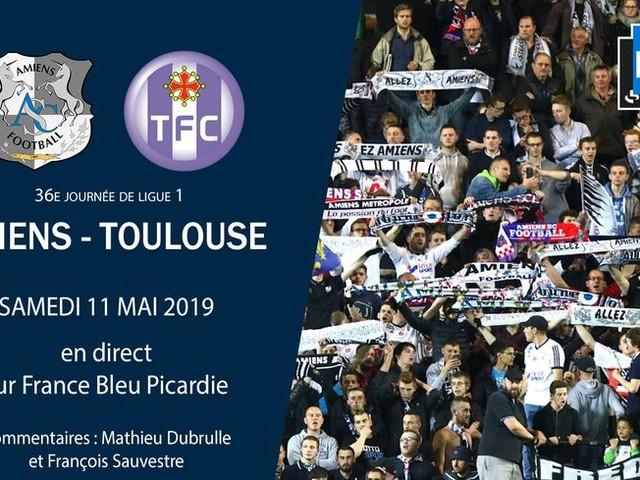 Ligue 1 - direct : suivez le match de la 36e journée entre Amiens et Toulouse