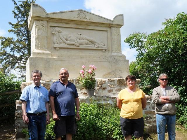 A Soumont-Saint-Quentin, les visiteurs seront accueillis au tombeau Marie-Elisabeth Joly