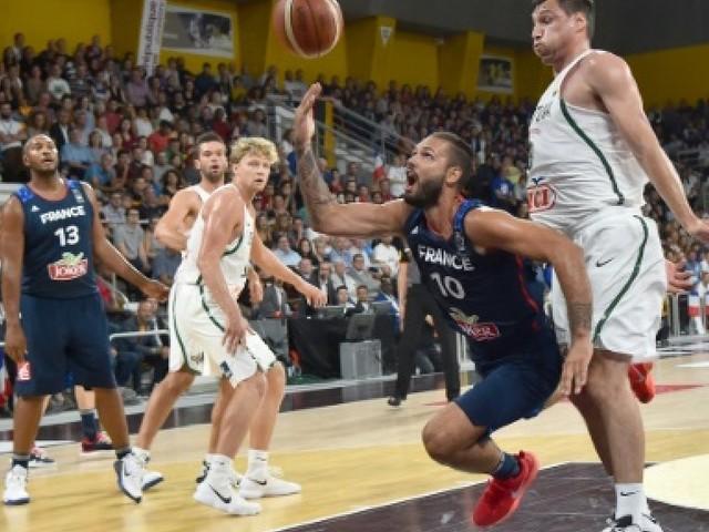 Basket: les Français montent en régime face à la Lituanie en préparation à l'Euro