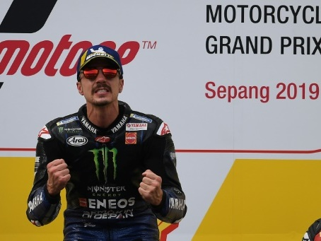 MotoGP: l'Espagnol Maverick Vinales (Yamaha) s'impose en Malaisie