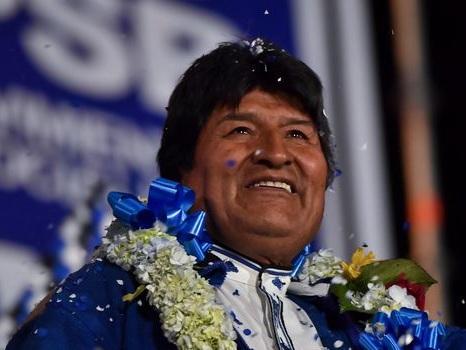 Elections en Bolivie: Evo Morales sous pression