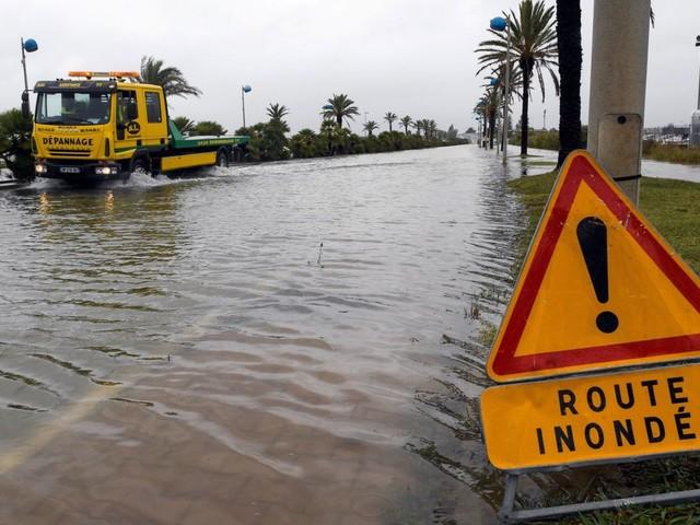 France et Italie en alerte suite à des fortes pluies et inondations