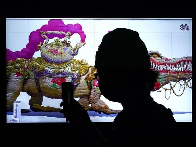 """New York: une galerie physique d'œuvres numériques """"NFT"""", une première"""