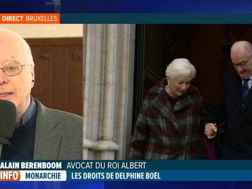 """L'avocat du Roi Albert, après la reconnaissance de Delphine: """"Le Roi, ce n'est pas une représentation sur une boîte de biscuits Delacre"""""""