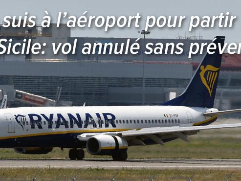 Son vol Ryanair annulé à l'ultime moment: Logan aura-t-il droit, en plus du remboursement du vol, à l'indemnité de 400 euros?
