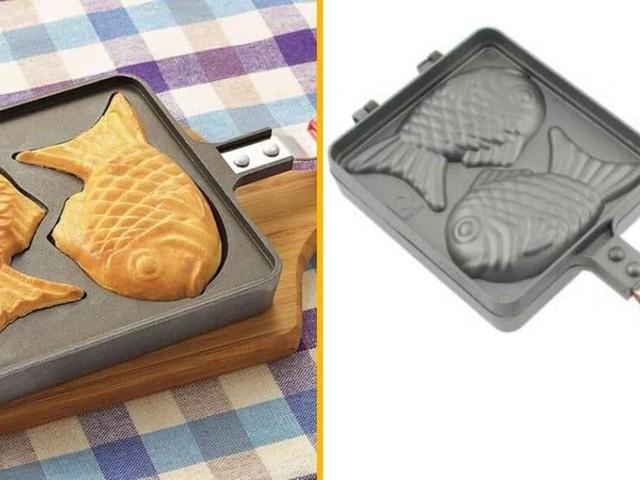 [TOPITRUC] Un gaufrier Taiyaki, pour faire des gaufres japonaises en forme de poisson