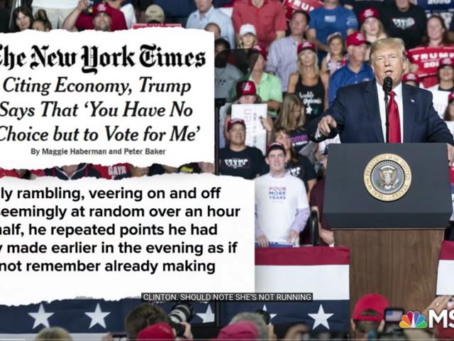 Trump perd la boule. Bonne ou mauvaise nouvelle?