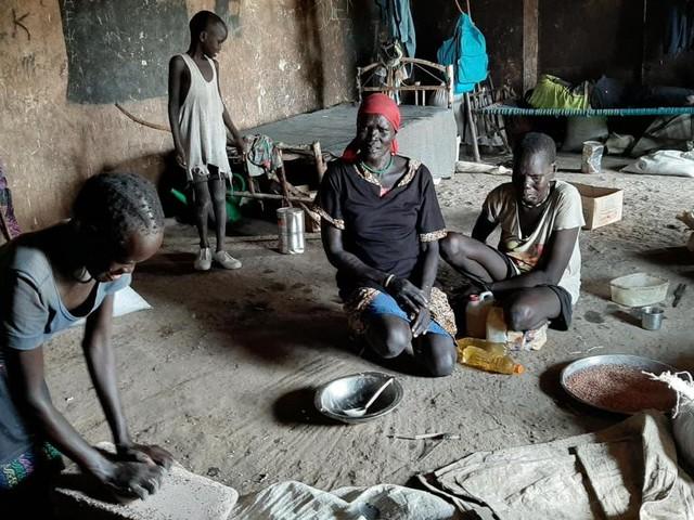Soudan du Sud: à Bentiu, au nord du pays, l'attente des populations déplacées