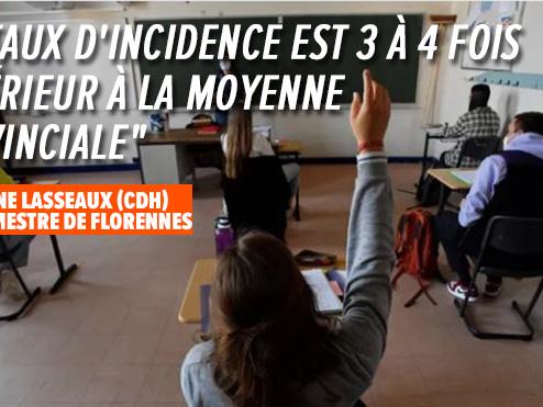 Décision radicale à Florennes: le bourgmestre ferme les écoles secondaires dès ce mardi