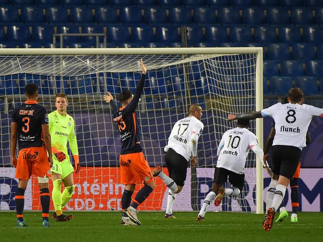 Ligue 1: Lille gagne à Montpellier mais perd la tête