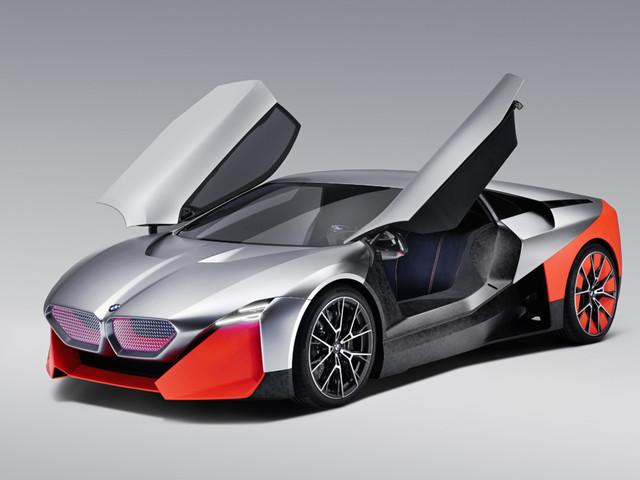 BMW Vision M NEXT : un concept de sportive hybride pour le futur