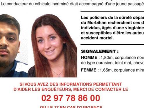 Enfant mortellement fauché par une voiture à Lorient: la passagère du véhicule arrêtée cette nuit