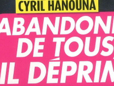 Cyril Hanouna, abandonné, terrible dépression