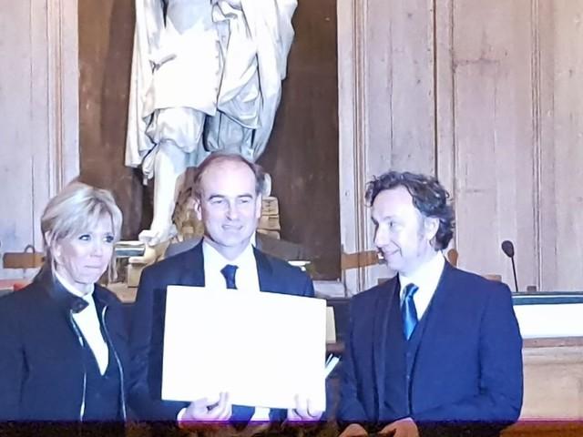 Le discours de Brigitte Macron pour la Fondation Bern