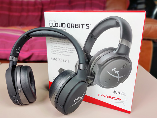 Test HyperX Cloud Orbit S : un casque audio 7.1 qui suit les mouvements de votre tête