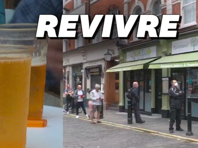 L'Angleterre rouvre ses pubs pour la suite du déconfinement