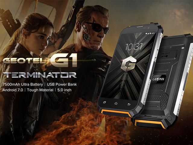 GEOTEL G1 Terminator, ils ont creer un Robot Mutant