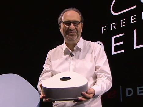 Free dévoile sa nouvelle box, la Freebox Delta