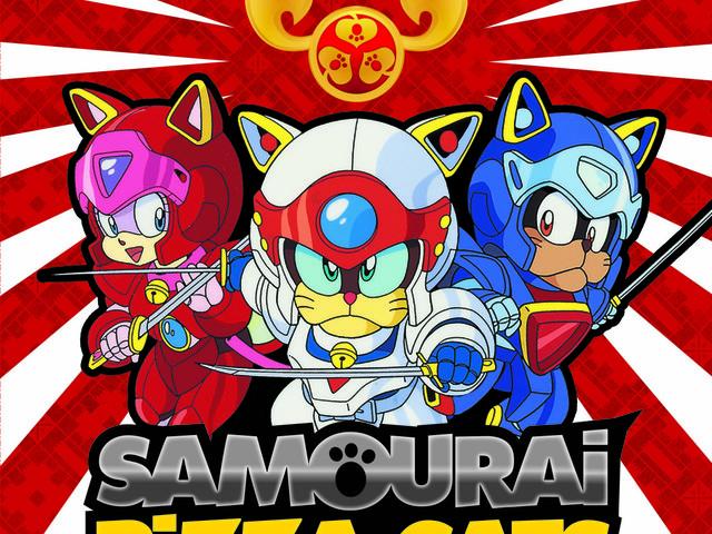 Tentations- Samouraï Pizza Cats coffret collector Kazé