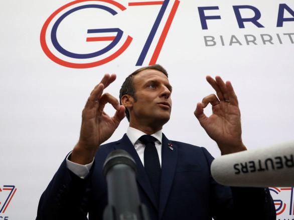 Macron clôt le sommet du G7 à Biarritz