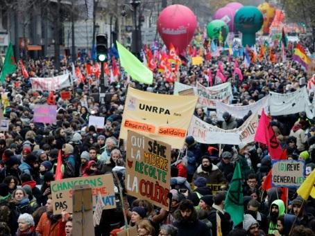 Sept semaines de mobilisation contre la réforme des retraites