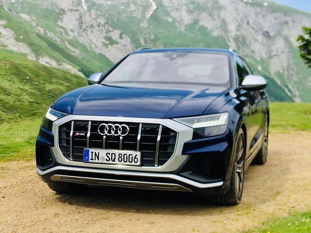 L'Audi SQ8 à l'essai, toutes nos photos
