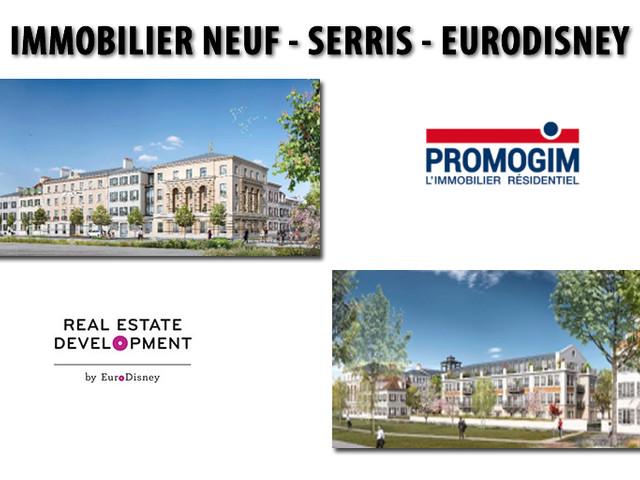 Immobilier neuf à Serris (77) : PROMOGIM, Lauréat de la consultation de Real Estate Development by Euro Disney