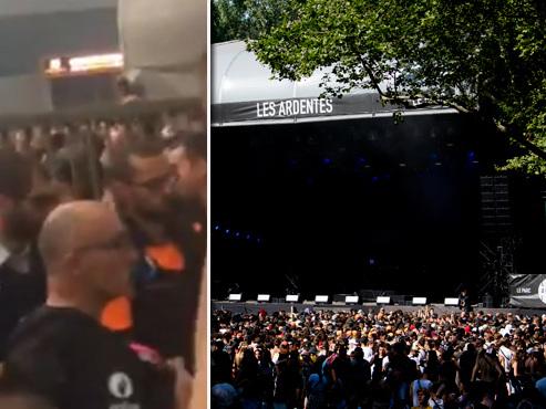 Des festivaliers se ruent en masse vers une scène aux Ardentes: la police intervient