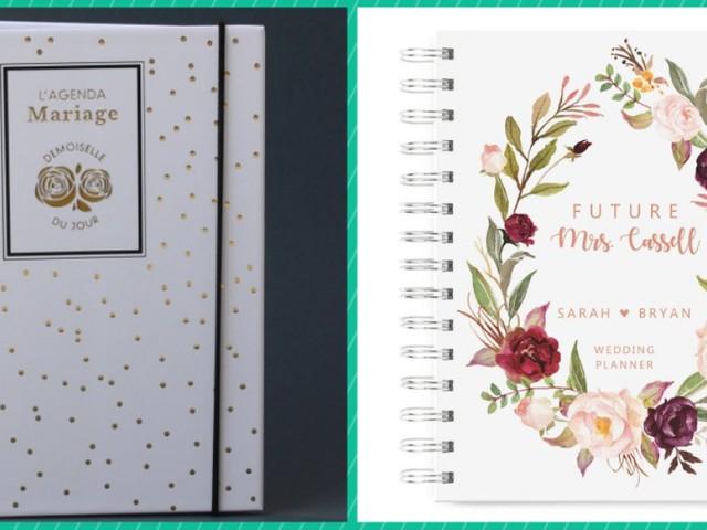 Mieux qu'un wedding planner pour votre mariage, 5 agendas pour simplifier l'organisation
