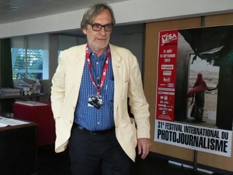 """Les journalistes sont """"une cible"""", selon le directeur de Visa pour l'image"""