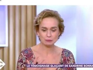 Sandrine Bonnaire raconte les séquelles de son agression par son ex compagnon