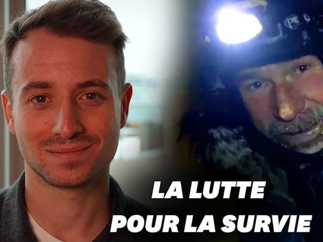 """Dans """"Sur le front"""", Hugo Clément raconte le sauvetage de Mike Horn"""