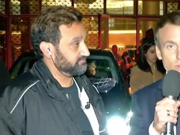 Cyril Hanouna réussit son pari avec Emmanuel Macron en direct sur C8 (vidéo)