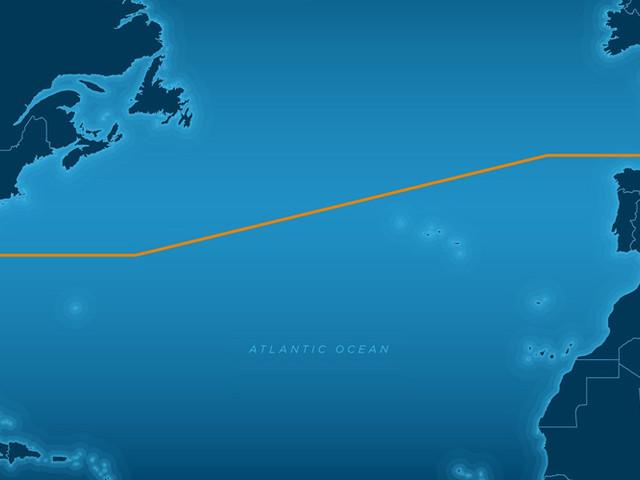 Un câble à 160 Tbit/s de 6600 Kms de long traverse l'Atlantique