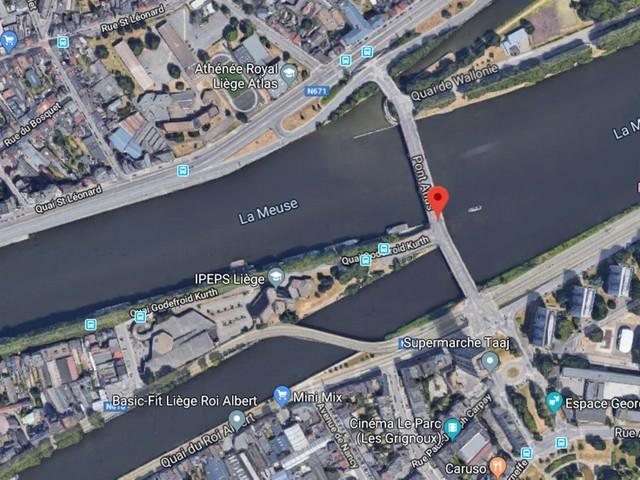 Liège: un corps repêché dans la Meuse à hauteur du pont Atlas