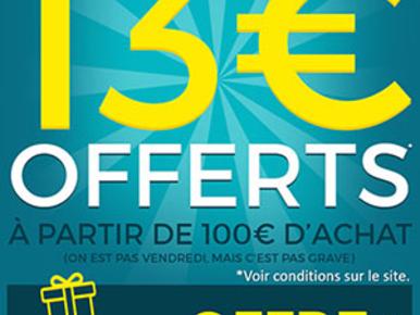 Bon Plan : 13 euros de remise chez LDLC