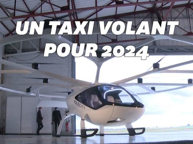 Ce taxi volant va être testé en Île-de-France à partir de juin 2021